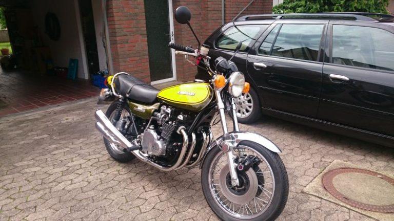 Z900 mit 1000er Motor im Z1-Look